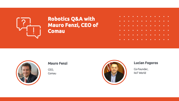 CxO Series with CEO of COMAU