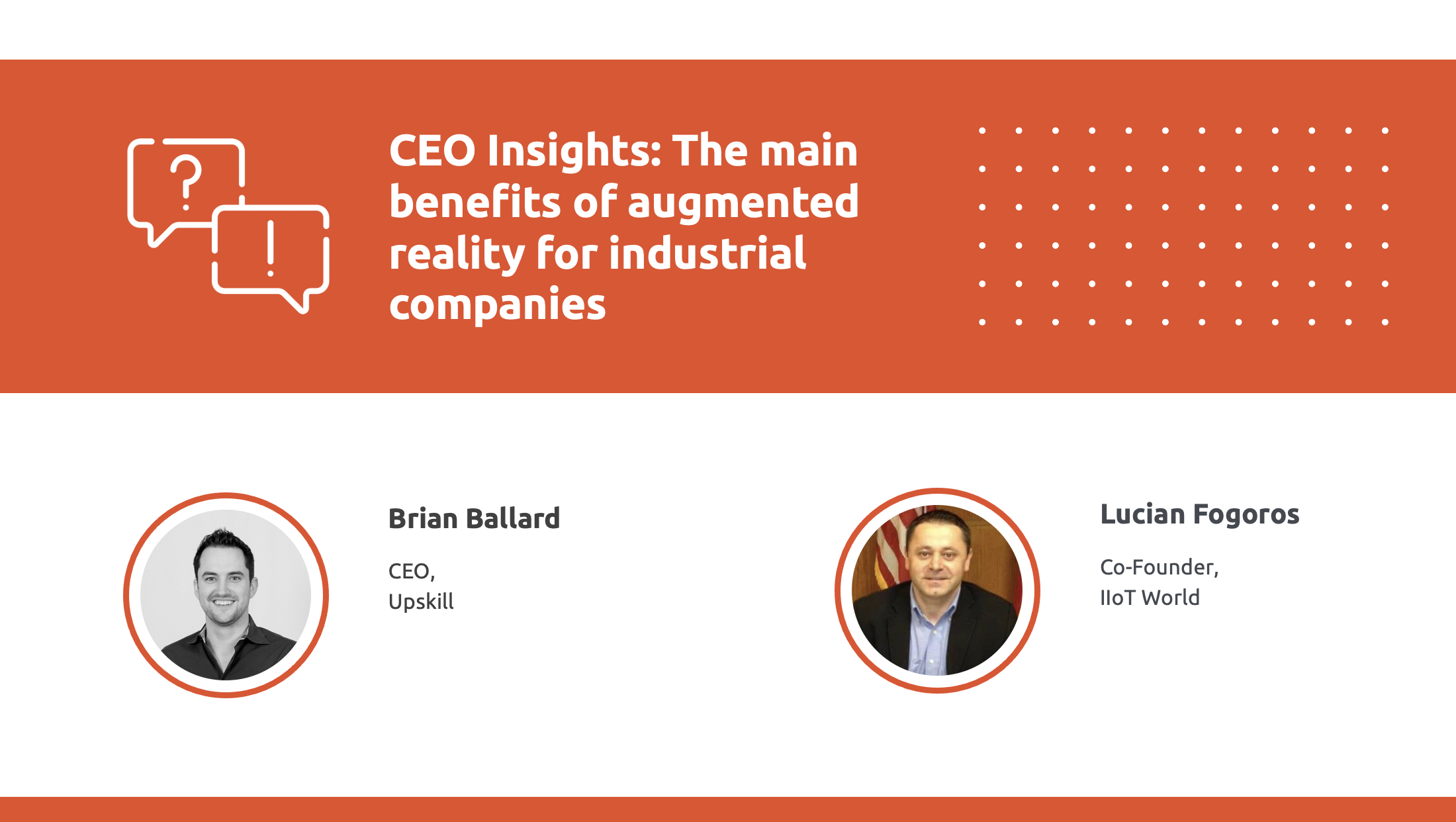 CEO insights with CEO of Upskill