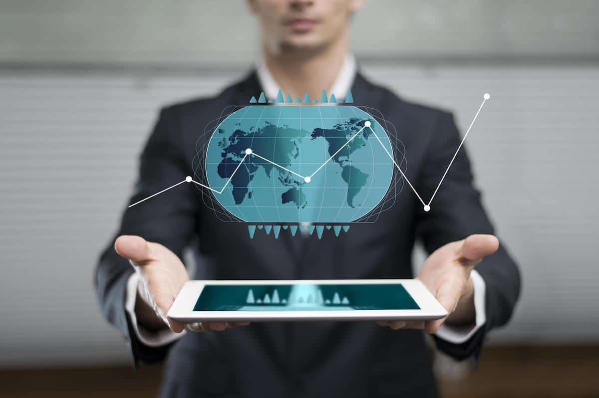 business-graph-hologram-showed-by-man