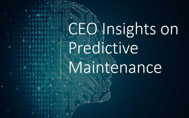 CEO Insights predictive maintenance