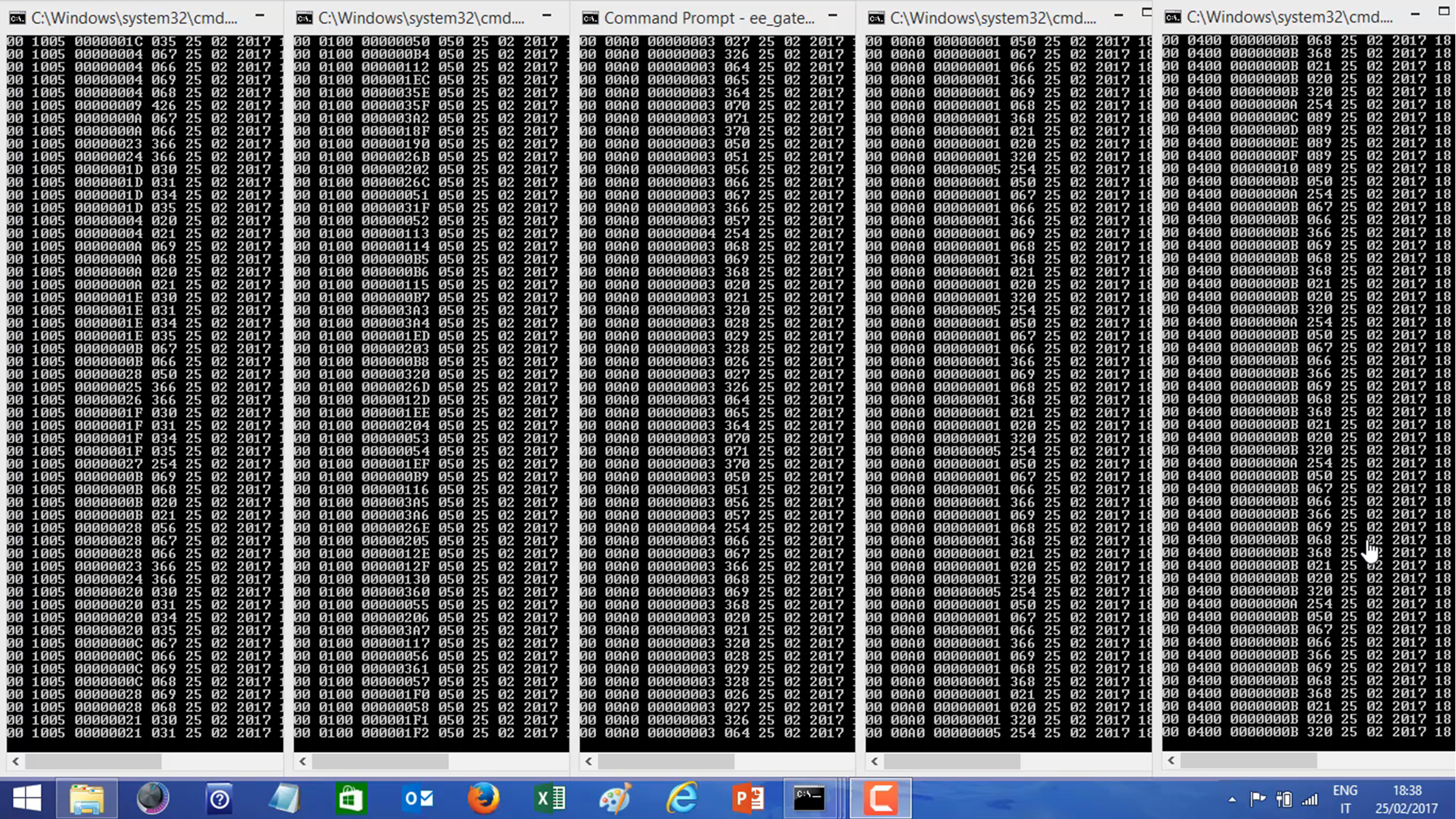in-stream data analysis
