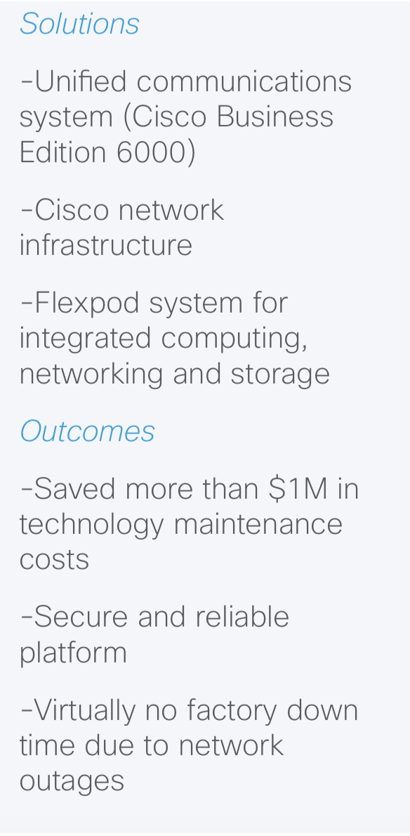 iiot solutions and outcomes