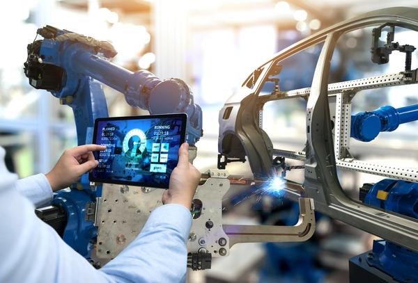 Analysing industrial robot data