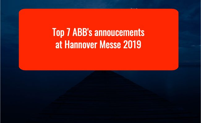 ABB at Hannover Messe 2019