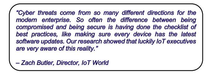 quote Zach Butler IoT World