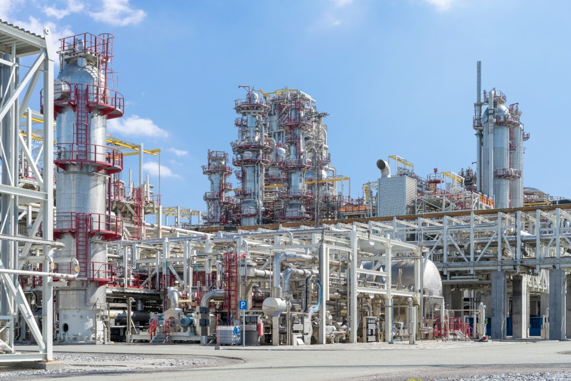 The heart of Equinor's LNG plant