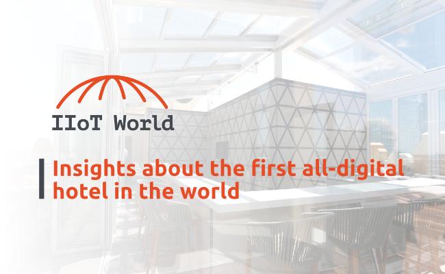 first all-digital hotel