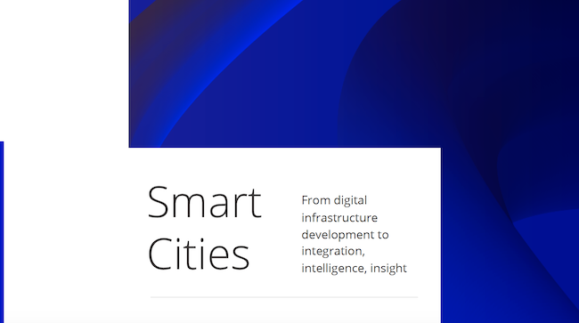 smart city/smart cities white paper