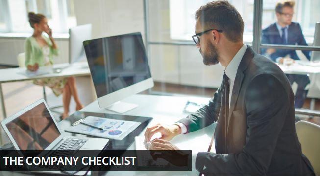 the company checklist