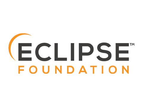 Eclipse Foundation logo wh bg