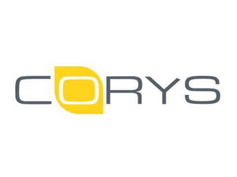 corys logo white bg